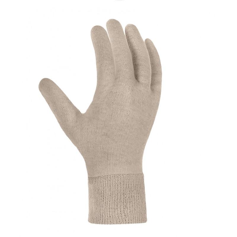 Rękawice-bawełniane-trykotowe-ze-ściągaczem - TEXXOR-1720