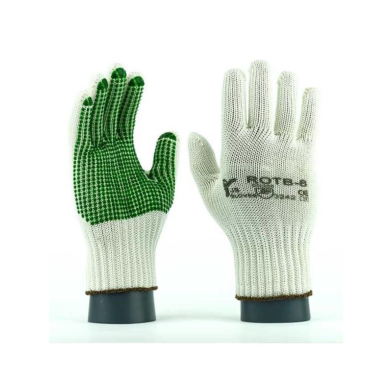 Rękawice-ochronne-dziane-poliamid-HT-bawełna - JS-GLOVES-ROTB-ROTBV