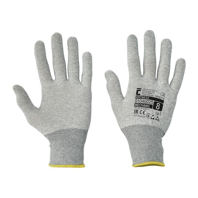 Rękawice-antystatyczne-węglowe-nylonowe-esd - WRYNECK-ESD