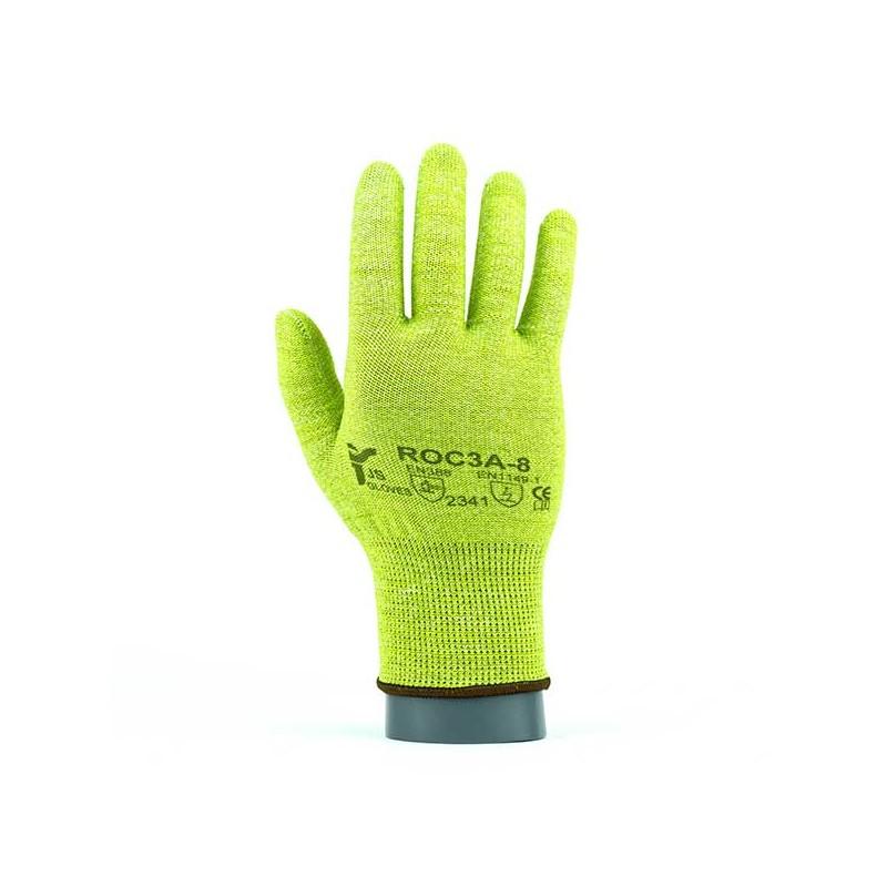 Rękawice-dziane-antystatyczne-z-włóknem-węglowym - JS-GLOVES-ROC3A