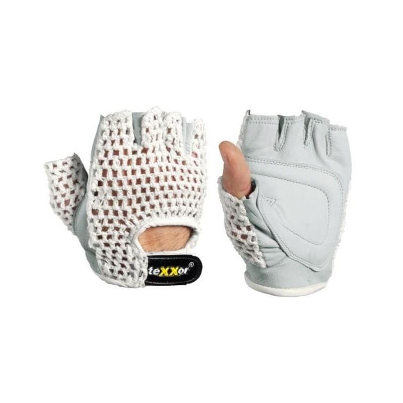 Rękawice-skóra-włóczka-operatorskie - TEXXOR-1164